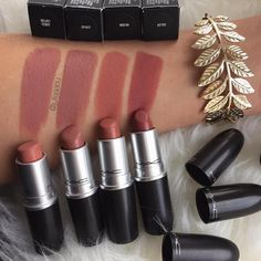 MAC lipstick - Velvet Teddy is my everyday lipstick Makeup Goals, Makeup Inspo, Makeup Inspiration, Makeup Style, Beauty Make-up, Beauty Bay, Beauty Tips, Makeup Swatches, Mac Lipstick Swatches Matte