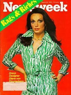 THE wrap dress. Diane von Furstenberg.