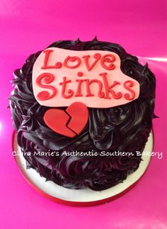 Anti-Valentine's Cake (Photo Only)