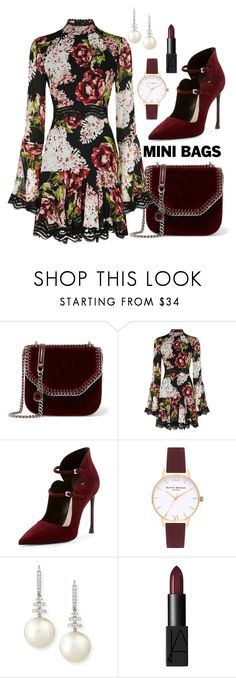 """""""Dress Up: Velvet Mini Bag"""" by sonyastyle ❤ liked on Polyvore featuring STELLA McCARTNEY, Nicholas, Christian Dior, Topshop, Belpearl, velvet, polyvoreeditorial, polyvorecontest and minibags"""