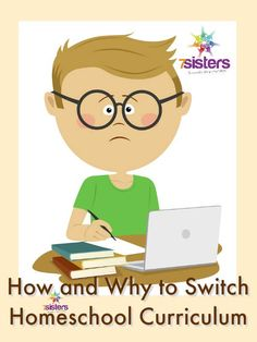How and Why to Switch Homeschool Curriculum Mid-Year? Sometimes a homeschool parent wishes they could ditch the homeschool textbooks. Here are thoughts about that.