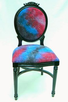 Mark Montano: Galaxy Chair and Fabric DIY galaxy chair, diy galaxi, galaxi chair, galaxi diy, fabric dye
