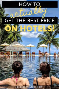 With booking sites being found to favor the hotels that pay them the most commission, it's hard to find the absolute best price for a room. But not any more! I have you covered in this post.   #traveltips #hotelbookings #hotels #travel