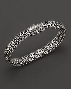 John Hardy Men's Sterling Silver Large Chain Bracelet | Bloomingdale's
