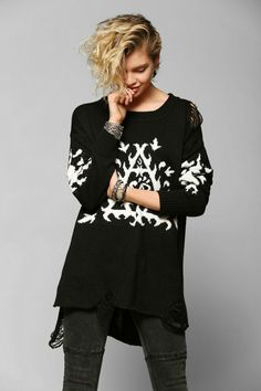 UNIF Ornate Sweater #urbanoutfitters
