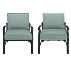I really like these chairs...And I think Chopper and Alfred would like them, too!  Threshold™ Conservatory 2-Piece Patio Club Chair Set - Blue