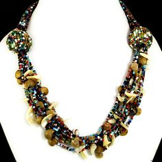Unique Fashion & Costume Boho Hippie Multi Color Fashion Jewelry Necklace #Handmade #Pendant