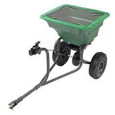 Precision Products 75Pound Capacity TowBehind SemiCommercial Broadcast Spreader TBS4000PRCGY >>> See this great product.