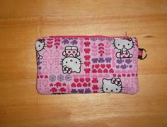 Hello Kitty Pencil Pouch. Great for a back to schoool supply