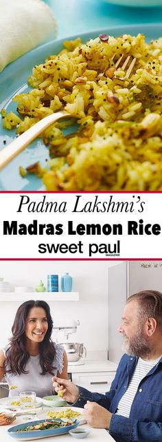 From Padma's book, The Encyclopedia of Spices & Herbs Lemon Recipes, Rice Recipes, Indian Food Recipes, Asian Recipes, Cooking Recipes, Healthy Food Choices, Healthy Recipes, Sweet Paul, Lemon Rice