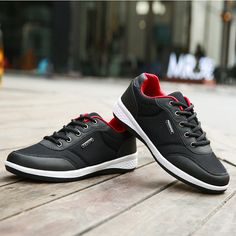 f3faa861025 Men Breathable Skateboarding Shoes Flat Lace Up Sport Casual Shoes Slipper  Sandals, Slipper Boots,