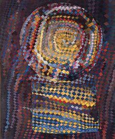 «Sí, vos sos más bien un Mondrian y yo un Vieira da Silva»                                                                                                                                                                           -Rayuela    La Macchina Ottica, 1937    María Helena Vieira da Silva    (Lisboa, 1908 - París, 1992)    pintora francesa de origen portugués