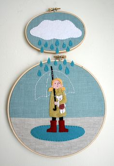 by Melissa Crowe  This is a needle craft I could definitely get behind.  Her work is pretty nifty & inspiring.