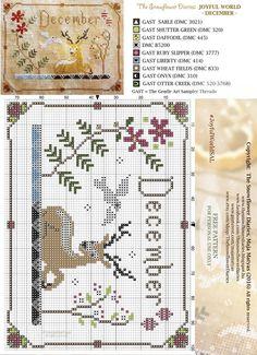 The Snowflower diaries free pattern December