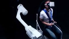 Virtual reality has been gaining more traction recently, immersing consumers in scenes unlike anything we have seen before. Companies are lining up to create the best VR experiences imaginable. This 3 axis turning virtual reality gaming chair is going to blow your mind. Click here to see the amazing innovation in action.