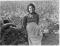 Cotton picker. Southern San Joaquin Valley, CA, 1936. Library of Congress.