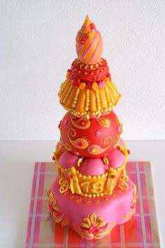 Bollywood cake... I want one for my next bday!