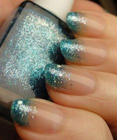 40 Stunning Frozen Nail Art Designs For Winter