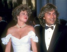 Melanie Griffith and Don Johnson on their wedding day