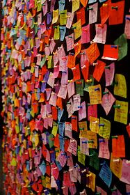 Wishing Wall for 2011 Times Square New Year's Eve Confetti Installation Interactive, Interactive Exhibition, Interactive Walls, Installation Art, Exhibition Display, Interactive Design, Prayer Wall, Prayer Room, Collaborative Art Projects