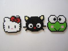 perler beads hello kitty - Google Search