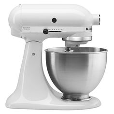 Special Offers - KitchenAid 4-1/2-Quart Ultra Power Stand Mixer White - In stock & Free Shipping. You can save more money! Check It (May 30 2016 at 09:58PM) >> http://standmixerusa.net/kitchenaid-4-12-quart-ultra-power-stand-mixer-white/