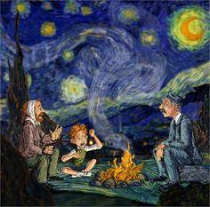 vincent Van Gogh - Art according to Disney - Vogue.it