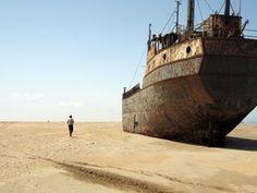 en un mar de arena