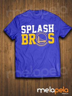 Splash Brothers  Golden State Warriors T-Shirt by MelaPelaClothing
