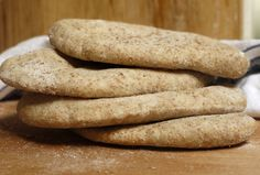 wholemeal pitta bread