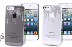 iphone 5 crystal rain cover by Puro