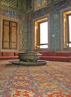 Topkapi Palace in Istanbul. It was the primary residence for Ottoman Sultans for over 400 years.
