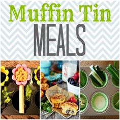 Magical Muffin Tin Meals | TodaysCreativeBlog for Spoonful.com