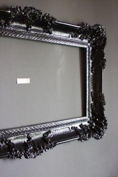 Laquered Black Frame
