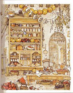 brambly hedge, best illustrated inspiration for children