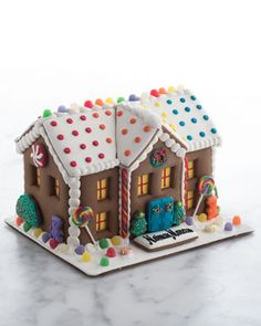 Dylans Candy Bar Gingerbread Mansion - wow