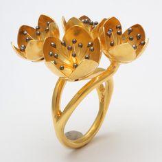 Buttercup Flower Ring 2