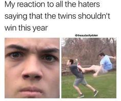 They say Jake Paul and Logan Paul should win, nooooooooooooo