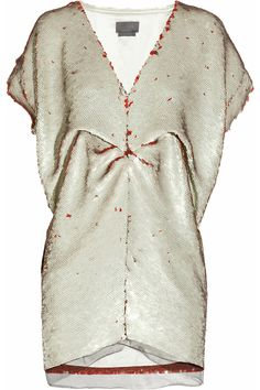 Sequined mini dress by Halston