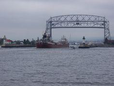 ss edmund fitzgerald | ... Edmund Fitzgerald -- under the Lift Bridge, Duluth, MN. Taken by Edmund Fitzgerald, Shipwreck, Lake Superior, Lake Michigan, Great Lakes, Bridge, Coin Collecting, Sailors, Park