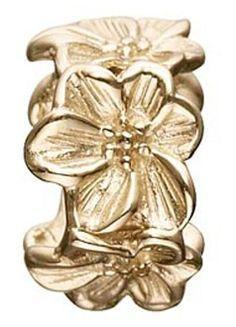 STORY Kranz & Ziegler Flower Spacer Gold Plated