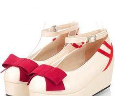 Faux Leather Top Bow Buckle Strap Closure Wedges   Wedges : featuring faux leather upper, top bow decor, close toe, platform and wedge heels, buckle strap closure. - See more at: http://spenditonthis.com/cat-14-shoes-newest.html#sthash.ZEFuZVUo.dpuf
