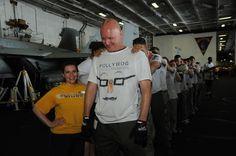 USS George Washington (CVN 73) - WOG DAY!! 2013 Crossing the Line ceremony to become ShellBacks!!