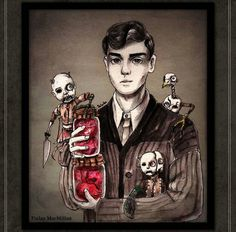 Miss Peregrine's home for peculiar children. Enoch O'Connor.