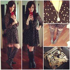 vestido + bota