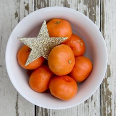 Clementines- they always put me in the Christmas state of mind