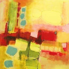 Janet Wayte - Change Order 09/1, 2009, acrylic & charcoal on canvas