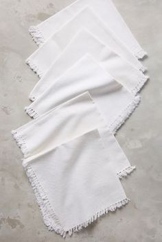 Shop the Fringed Cotton Napkin Set and more Anthropologie at Anthropologie today. Read customer reviews, discover product details and more.