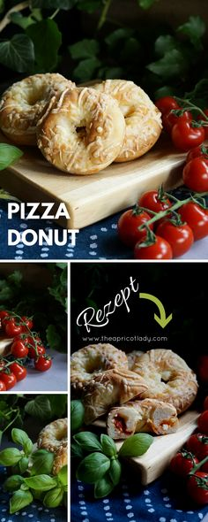 Pizza-Donuts - The Apricot Lady Donuts, Donut King, Pizza, Vegan, Bagel, Bread, Snacks, Vegetables, Cooking
