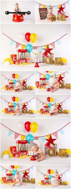 Felix's First Birthday & Circus Themed Cake Smash Session!- Felix's First Birthday & Circus Themed Cake Smash Session! Felix's First Birthday & Circus Themed Cake Smash Session! Circus First Birthday, Circus 1st Birthdays, Baby Boy 1st Birthday Party, Birthday Themes For Boys, Birthday Party Themes, First Birthdays, Birthday Photos, Birthday Decorations, Birthday Ideas